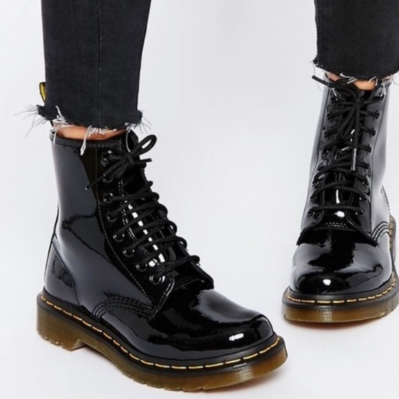Dr. Martens 1460 Pascal Glossy Leather Boot